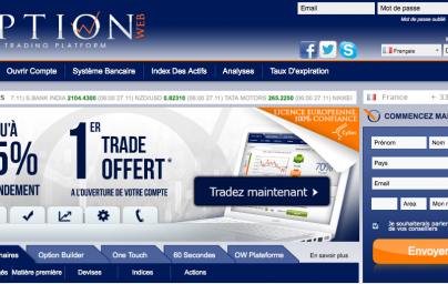 Le trading option binaire net
